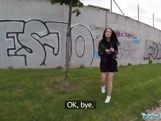 Public Spokesperson Alessa Savage Gets Creampied Outdoors