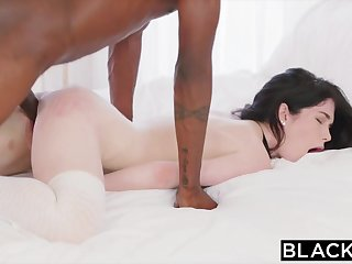 BLACKED Hot Pupil Fucks Boyfriends BBC Roommate