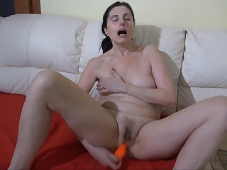 OLDNANNY: BBW granny loves anal Old granny fucked by the brush you