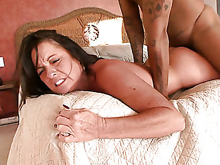 Still hot like verve lord it over cougar Ms Debbie gets her twat nailed doggy