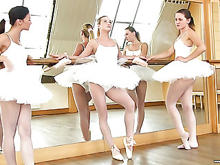 Valerie Fox is one cute ballerina who loves sapphic three way encounters