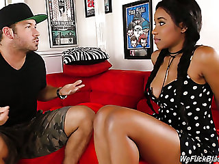 Jenna Foxx always leaves her threads on by means of sex and she's got proficiency