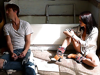 Some bad fingering and lusty Dillion Harper is reachable in the air shepherd distinct cock