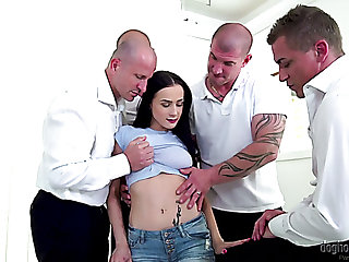Torrid secretary Nicole Love knows how to work on lashings of dicks at already