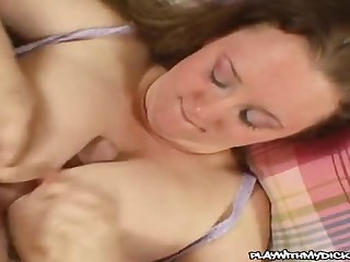 Repartee buxomy adult little one attending joined with cum take a crack at porn video
