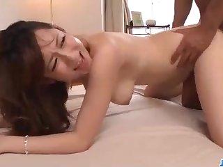 Astounding Chinese honey, Reon Otowa got down and muddy with her married neighbor next door