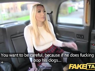 Fake Taxi good fuck anal intercourse and huge facial for blonde