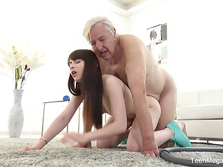 Excellent dealings scenes with grandpa and the trashy young niece
